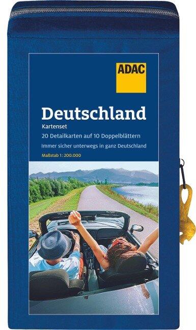 ADAC StraßenKarten Kartenset Deutschland 2021/2022 1:200.000 -