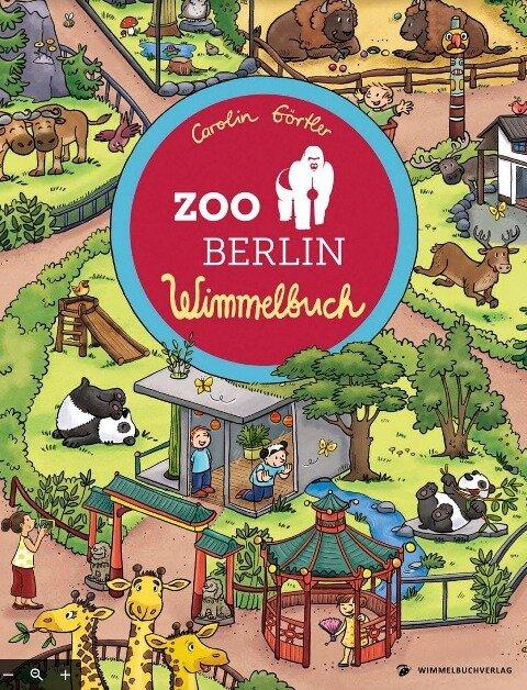 Zoo Berlin Wimmelbuch -
