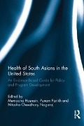 Health of South Asians in the United States -