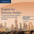 English for Business Studies - Third Edition. 2 Audio-CDs -