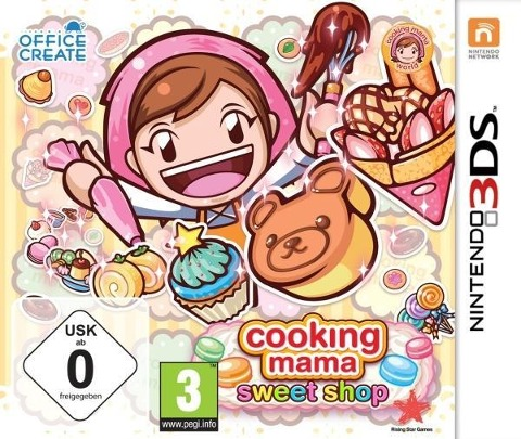 Cooking Mama - Sweet Shop! (Nintendo 3DS) -
