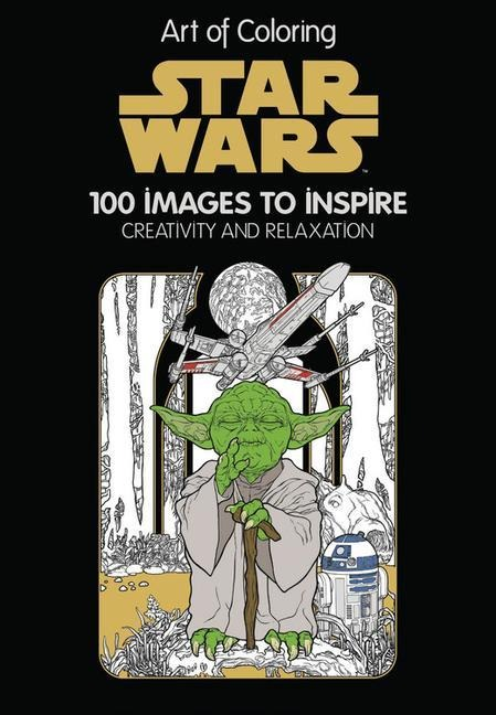 Art of Coloring Star Wars: 100 Images to Inspire Creativity and Relaxation - Disney Book Group