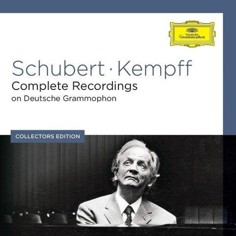 Sämtliche Schubert-Aufnahmen Auf DG - Wilhelm Kempff