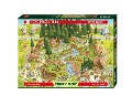 Degano Zoo Black Forest Habitat. Puzzle 1000 Teile - Marino Degano