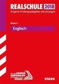 Abschlussprüfung Realschule Bayern 2018 - Englisch -