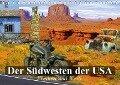 Der Südwesten der USA. Freiheit und Weite (Tischkalender 2019 DIN A5 quer) - Elisabeth Stanzer