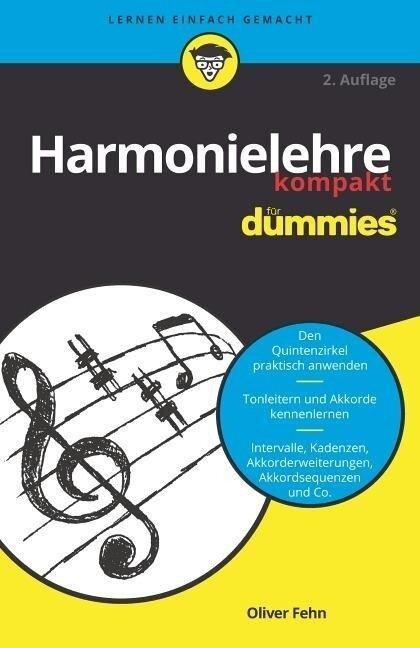 Harmonielehre kompakt für Dummies - Oliver Fehn