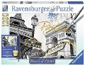 Goldenes Paris. Touch of Gold Puzzle 1200 Teile -