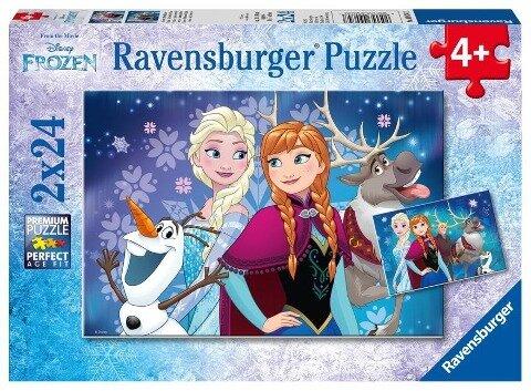 Disney Frozen Nordlichter. Puzzle 2 x 24 Teile -