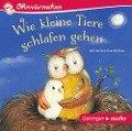 Wie kleine Tiere schlafen gehen und andere Geschichten (CD) - Susanne Lütje, Paul Maar, Anne-Kristin Brügge, Hans-Christian Schmidt