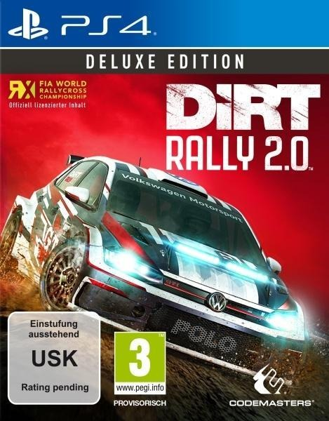 DiRT Rally 2.0 Deluxe Edition (PlayStation PS4) -