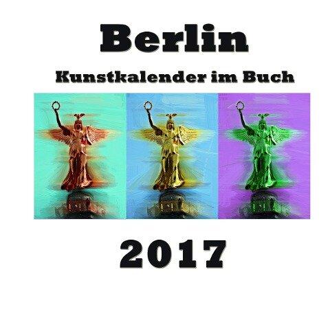 Kunstkalender im Buch - Berlin 2017 - Pierre Sens