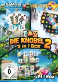 GaMons - Die Knobel 3 in 1 Box 2. Für Windows Vista/7/8/10 -
