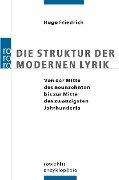 Die Struktur der modernen Lyrik - Hugo Friedrich