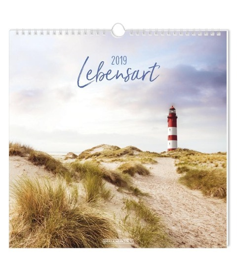 Lebensart 2019 Wandkalender -