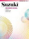Suzuki Recorder School (Alto Recorder) Recorder 3 -