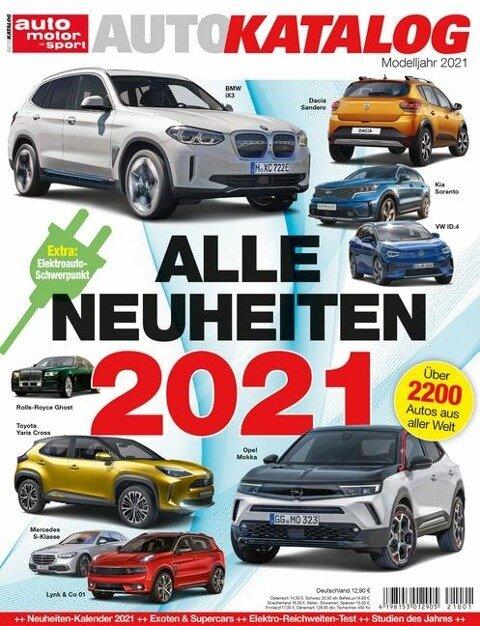 Auto-Katalog 2021 -
