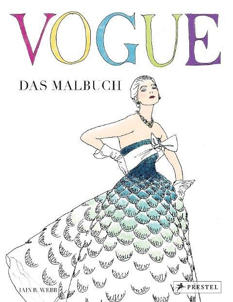 VOGUE - Das Malbuch - Iain R. Webb