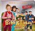 """Bibi und Tina. Der Soundtrack zum 3. Kinofilm """"Mädchen gegen Jungs"""". Deluxe-Edition -"""