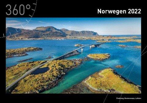 360° Norwegen Kalender 2022 -