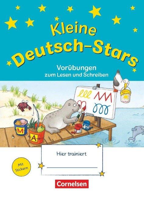 Deutsch-Stars 1. Schuljahr - Kleine Deutsch-Stars. Vorübungen zum Schreiben und Lesen - Bernd Wehren