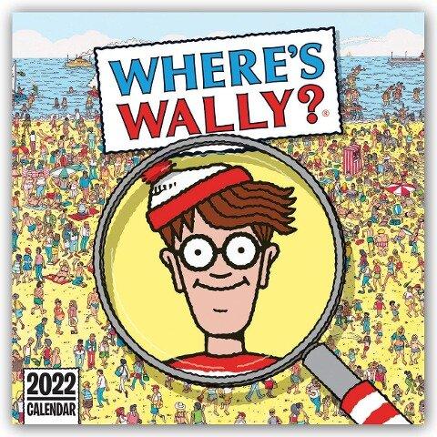 Where's Wally 2022 - Wo ist Walter? - Wand-Kalender -
