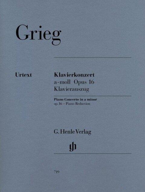 Klavierkonzert a-moll op. 16 - Edvard Grieg