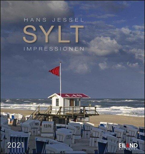 Sylt-Impressionen 2021 - Postkartenkalender -