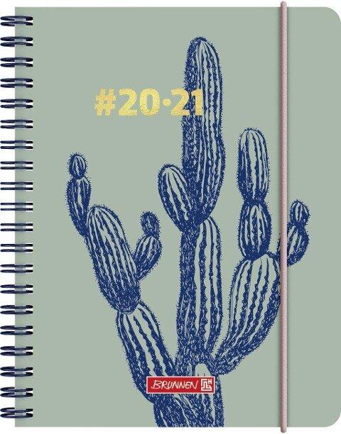 BRUNNEN 1071850021 Wochenkalender/Schülerkalender #Harmony, Cactus -