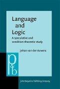 Language and Logic - Johan Auwera