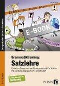 Grammatiktraining: Satzlehre - Marisa Herzog