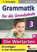Grammatik für die Grundschule - Die Wortarten / Klasse 3 - Sylvia Nitsche