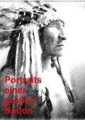 Portraits einer großen Nation (Wandkalender 2018 DIN A2 hoch) - Friederike Küster