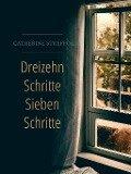 Dreizehn Schritte sieben Schritte - Catherine Strefford