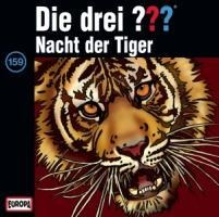 Die drei ??? 159. Nacht der Tiger (drei Fragezeichen) CD -