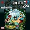 Die drei ??? Kids 41. Insel der Haie (drei Fragezeichen) CD -