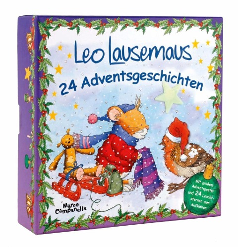 Leo Lausemaus 24 Adventsgeschichten -