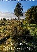 Naturparadies Neuseeland (Wandkalender 2019 DIN A2 hoch) - Werner Moller