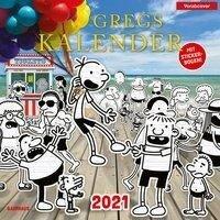 Gregs Kalender 2021 - Jeff Kinney