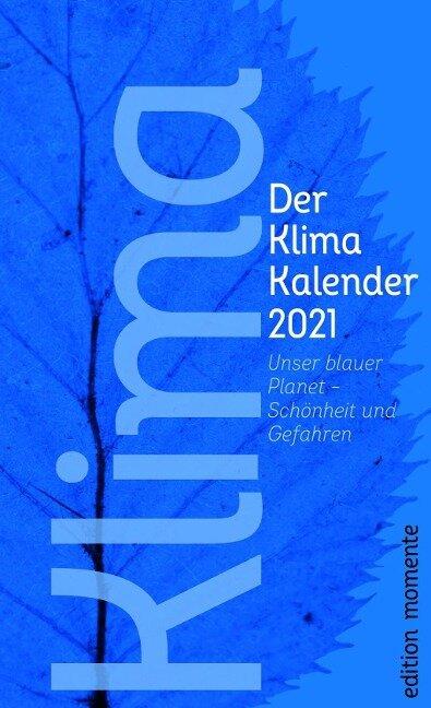Der Klima Kalender 2021 -
