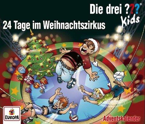 Die drei ??? Kids - Adventskalender - 24 Tage im Weihnachtszirkus - Ulf Blank