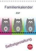 Familienkalender zur Selbstgestaltung (Tischkalender 2018 DIN A5 hoch) - k. A. Youlia