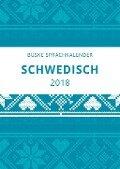 Sprachkalender Schwedisch 2018 - Carina Middendorf, Elizabet Gerber Andelius