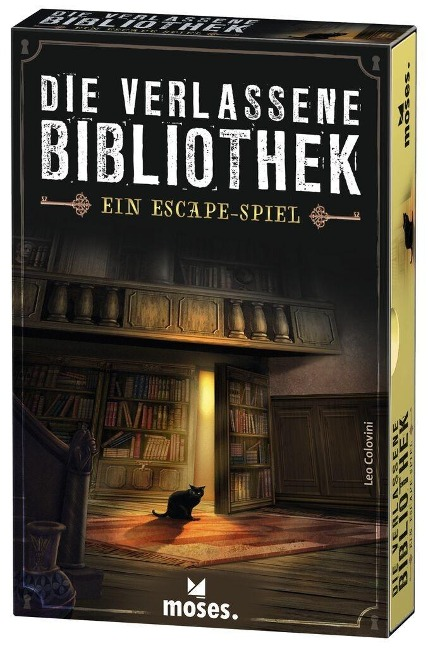 Die verlassene Bibliothek - Leo Colovini