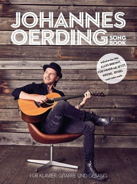 Johannes Oerding Best Of Songbook - For Piano, Voice & Guitar - (PVG Book) - Johannes Oerding
