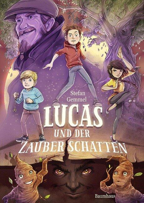Lucas und der Zauberschatten - Stefan Gemmel