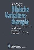Klinische Verhaltenstherapie - G. C. Davison, M. R. Goldfried