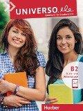 Universo.ele B2. Kursbuch + Arbeitsbuch mit MP3-Download - Núria Xicota Tort, Anieska Mayea von Rimscha