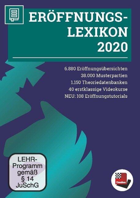 Eröffnungslexikon 2020 -