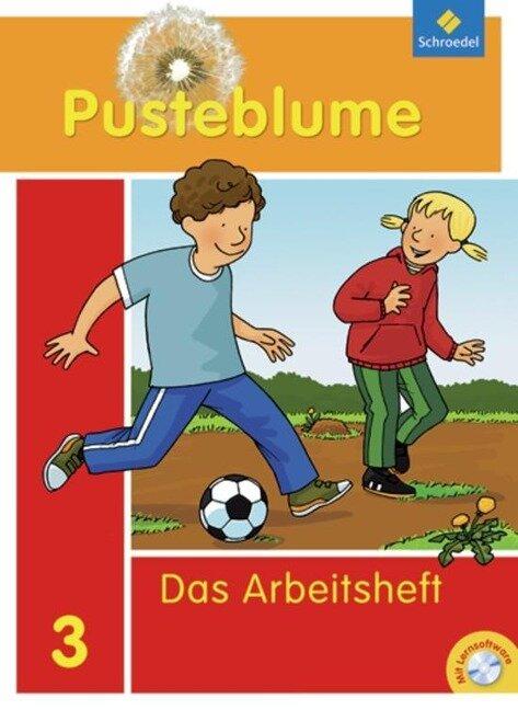 Pusteblume. Das Sprachbuch 3. Arbeitsheft mit CD-ROM. Bremen, Hamburg, Niedersachsen, Nordrhein-Westfalen, Schleswig-Holstein -
